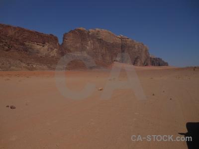 Sand western asia jordan wadi rum bedouin.