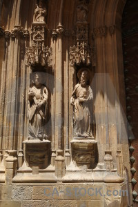 Santa maria europe sculpture carving cathedral of murcia.