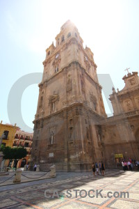 Santa maria murcia bell tower cathedral.