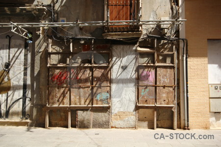 Scaffolding spain cartagena repair brown.