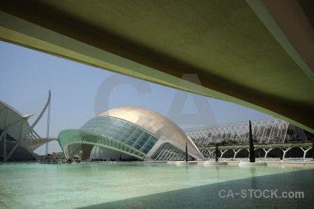 Science art valencia modern pool.