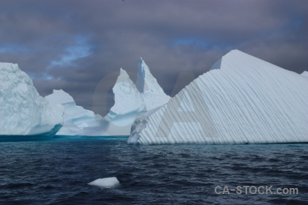 Sea antarctica cruise iceberg argentine islands sky.