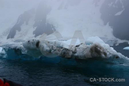 Sea antarctica cruise water fog penola strait.