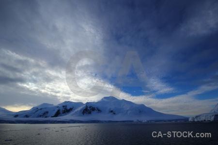 Sea antarctica sky adelaide island cloud.