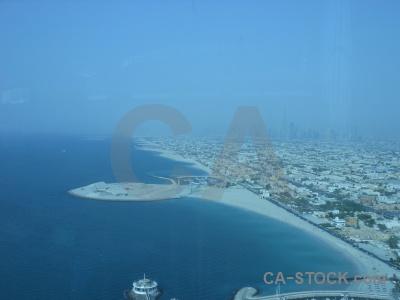 Sea asia western sky burj al arab.