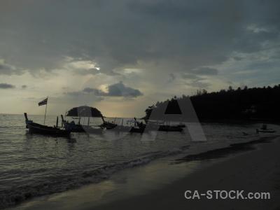 Sea beach kata water boat.
