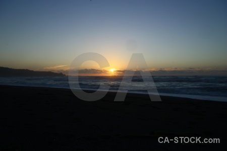 Sea beach west coast sunset sunrise.