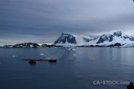Sea bellingshausen sea south pole antarctic peninsula iceberg.