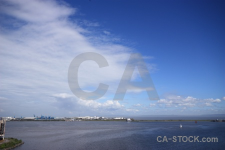 Sea cardiff cloud uk sky.