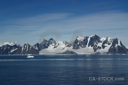 Sea day 6 south pole ice landscape.