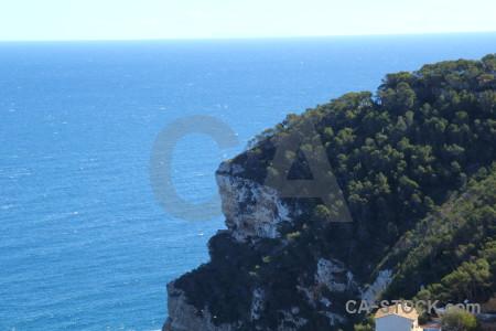 Sea europe javea coast spain.