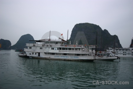Sea ha long bay water vietnam limestone.