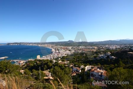 Sea javea sky spain europe.