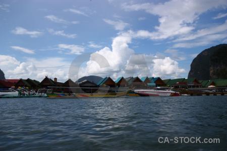 Sea ko panyi cloud tropical water.