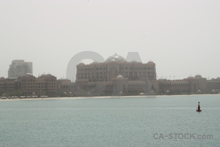 Sea sky abu dhabi building palace.