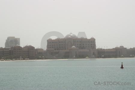 Sea sky abu dhabi building palace.
