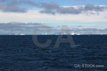Sea sky mountain antarctica cloud.