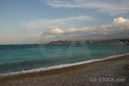 Sea sky spain javea beach.
