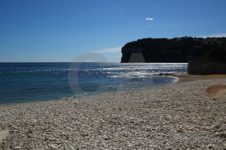 Sea spain europe javea water.