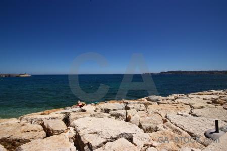 Sea spain water beach europe.