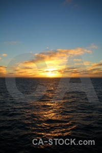 Sea sun water sunrise antarctica cruise.