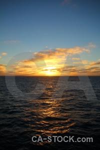 Sea sun water sunrise antarctica cruise.