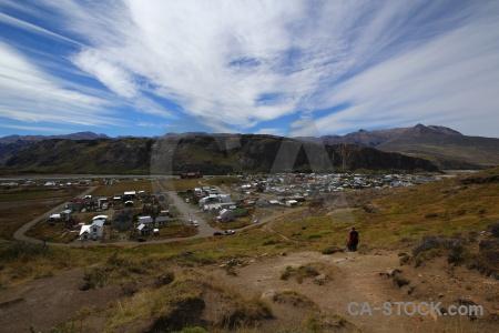 Senda a laguna torre south america patagonia trek grass.