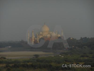 Shah jahan unesco minaret asia grass.