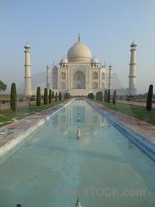 Shah jahan ustad ahmad lahauri archway reflection tower.