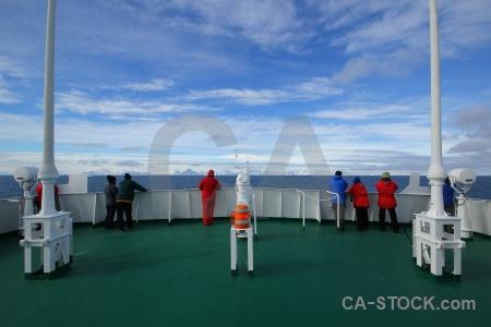 Ship antarctica cruise akademik ioffe day 5 sky.