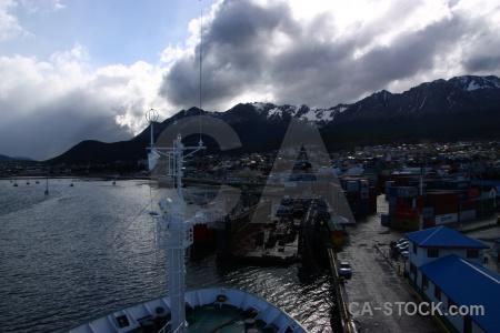 Ship tierra del fuego ushuaia sea patagonia.