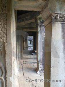 Siem reap block cambodia pillar angkor.