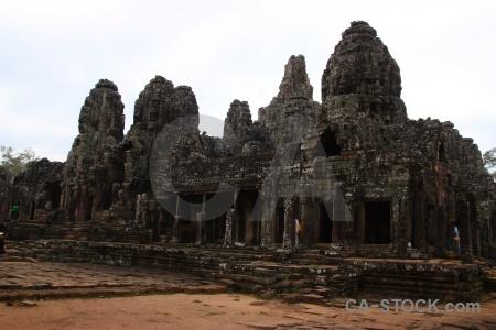 Siem reap lichen buddhism angkor cambodia.