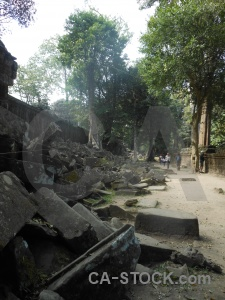 Siem reap ruin buddhist tomb raider unesco.