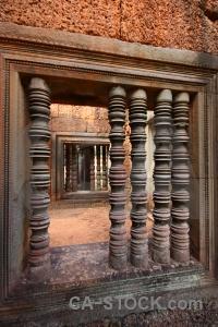 Siem reap southeast asia angkor block banteay samre temple.