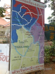 Sign asia map thailand southeast.