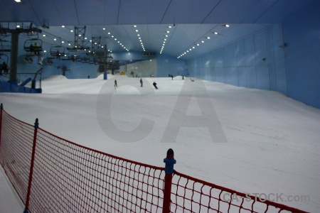 Ski inside middle east dubai snow.