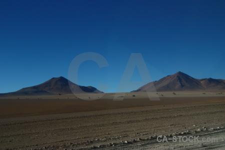Sky altitude andes bolivia south america.