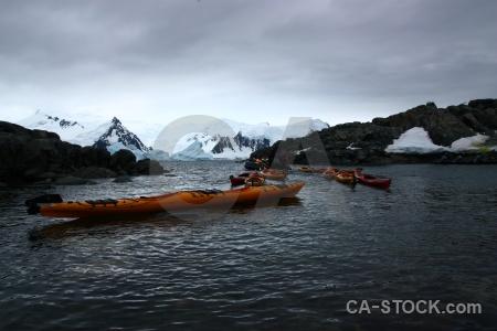 Sky antarctica cruise day 6 ice square bay.