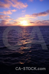 Sky antarctica cruise sun sunrise drake passage.