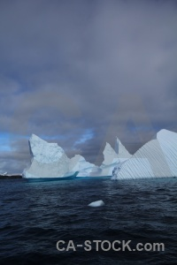 Sky antarctica iceberg south pole water.