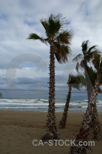 Sky arenal javea beach spain.