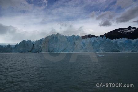 Sky argentina ice terminus lago argentino.