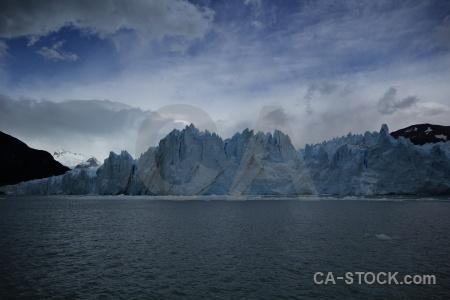 Sky argentina mountain patagonia glacier.