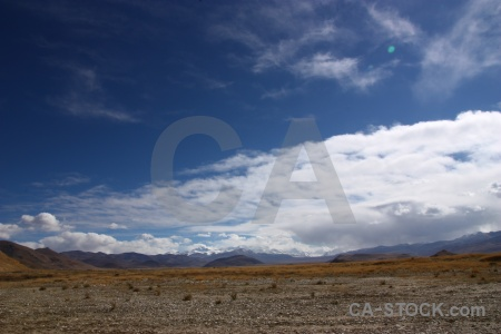 Sky arid himalayan altitude friendship highway.