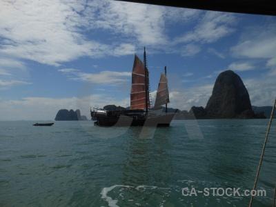 Sky asia phang nga bay thailand tropical.