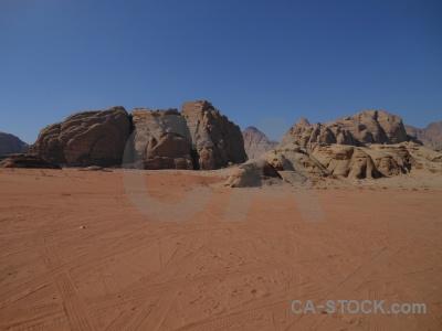 Sky asia sand rock desert.