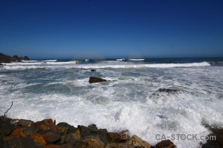 Sky beach wave water sea.
