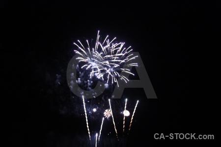 Sky black javea firework spain.