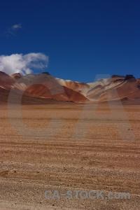 Sky bolivia valle de dali andes south america.